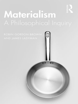 cover image of Materialism