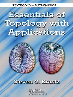 cover image of Essentials of Topology with Applications