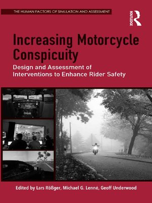 cover image of Increasing Motorcycle Conspicuity