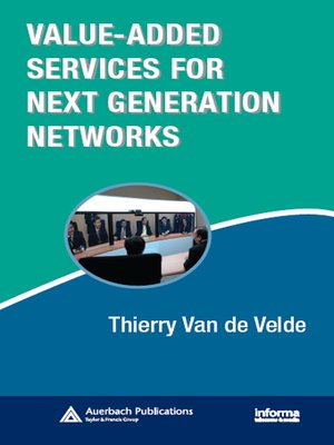 cover image of Value-Added Services for Next Generation Networks