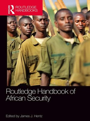 cover image of Routledge Handbook of African Security