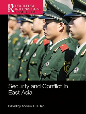 cover image of Security and Conflict in East Asia