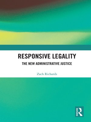 cover image of Responsive Legality
