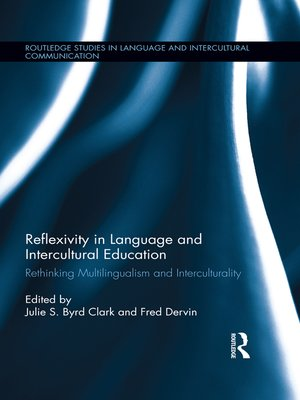 cover image of Reflexivity in Language and Intercultural Education
