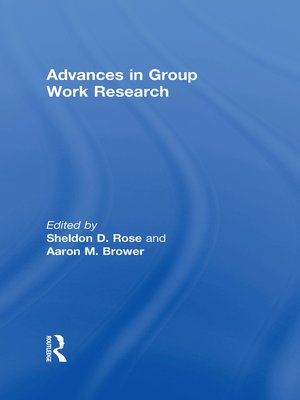 cover image of Advances in Group Work Research