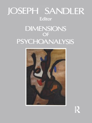 cover image of Dimensions of Psychoanalysis