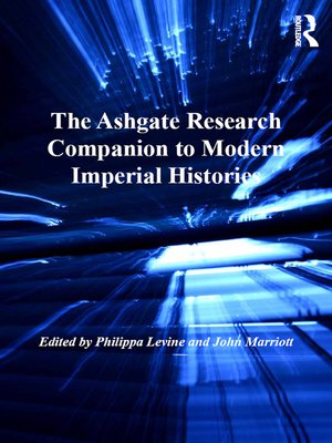 cover image of The Ashgate Research Companion to Modern Imperial Histories