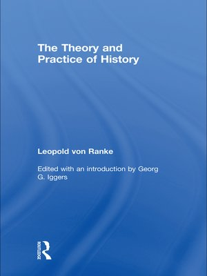cover image of The Theory and Practice of History