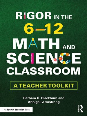 cover image of Rigor in the 6–12 Math and Science Classroom