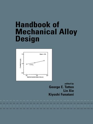 cover image of Handbook of Mechanical Alloy Design