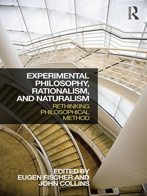 cover image of Experimental Philosophy, Rationalism, and Naturalism