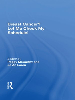 cover image of Breast Cancer? Let Me Check My Schedule!