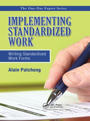 cover image of Implementing Standardized Work
