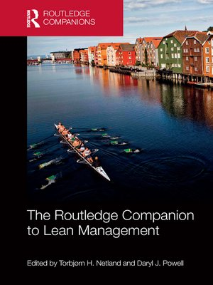 cover image of The Routledge Companion to Lean Management