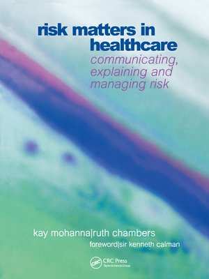 cover image of Risk Matters in Healthcare