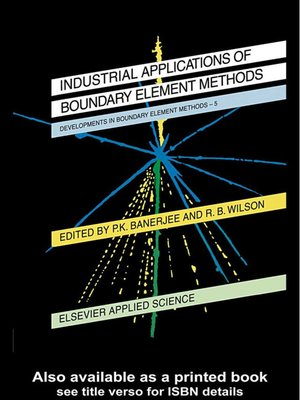 cover image of Developments in Boundary Element Methods