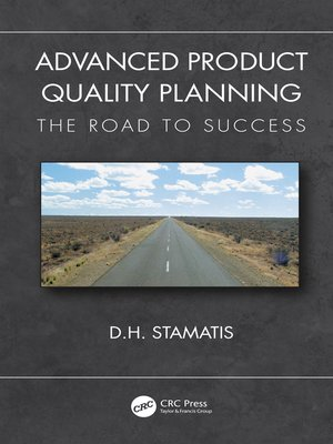 cover image of Advanced Product Quality Planning