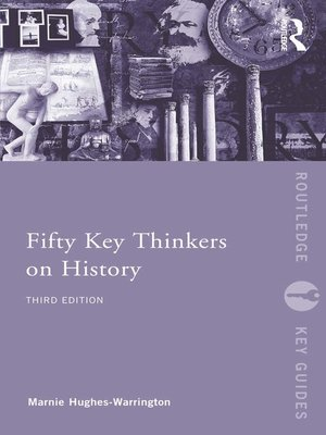 fifty key thinkers on history pdf