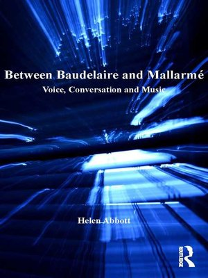 cover image of Between Baudelaire and Mallarmé