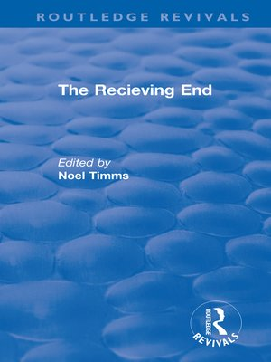 cover image of The Receiving End