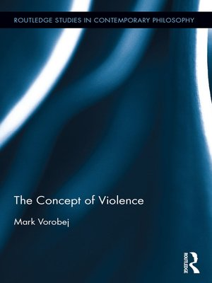 cover image of The Concept of Violence