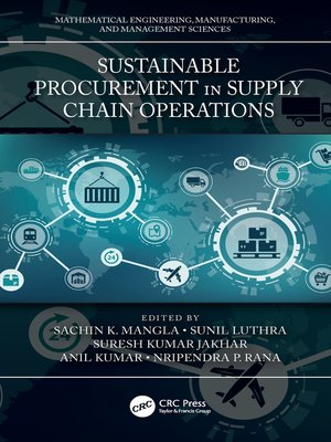 cover image of Sustainable Procurement in Supply Chain Operations