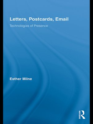 cover image of Letters, Postcards, Email