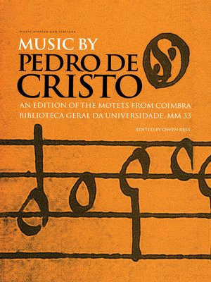 cover image of Music by Pedro de Cristo (c. 1550-1618)
