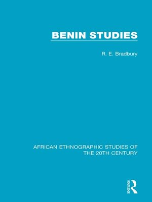 cover image of Benin Studies