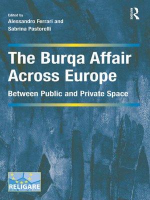 cover image of The Burqa Affair Across Europe