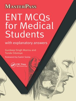 cover image of ENT MCQs for Medical Students