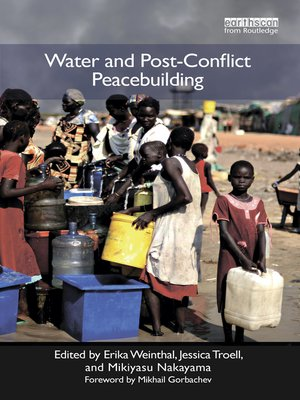 cover image of Water and Post-Conflict Peacebuilding