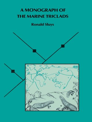 cover image of A Monograph of the Marine Triclads