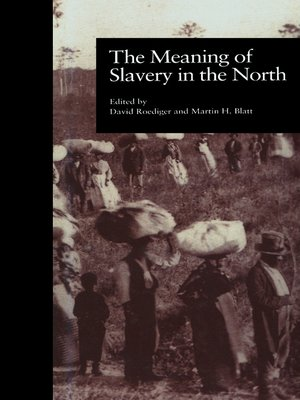 cover image of The Meaning of Slavery in the North