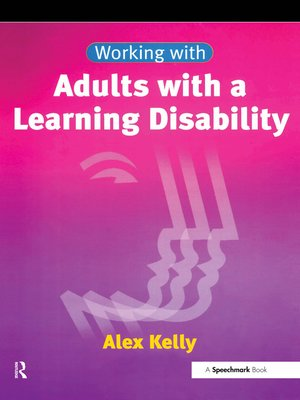 cover image of Working with Adults with a Learning Disability