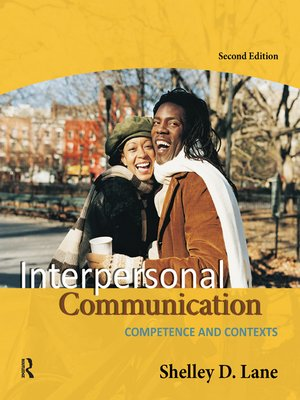 cover image of Interpersonal Communication