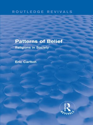 cover image of Patterns of Belief