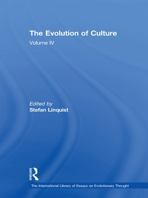 cover image of The Evolution of Culture