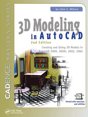cover image of 3D Modeling in AutoCAD