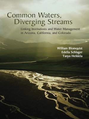cover image of Common Waters, Diverging Streams