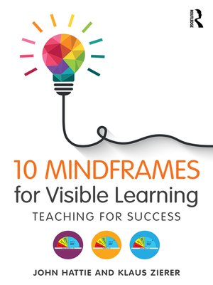 cover image of 10 Mindframes for Visible Learning