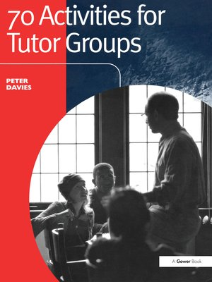 cover image of 70 Activities for Tutor Groups