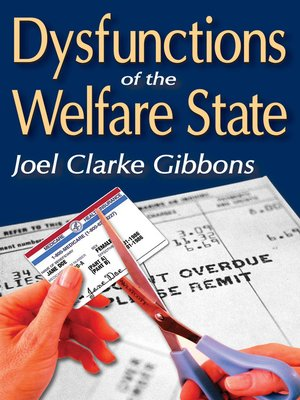 cover image of Dysfunctions of the Welfare State