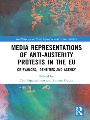 cover image of Media Representations of Anti-Austerity Protests in the EU