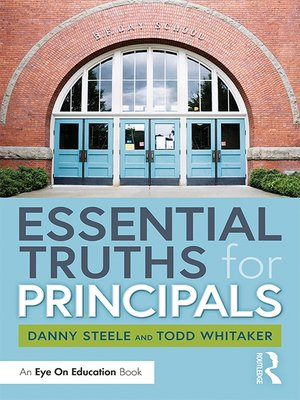 cover image of Essential Truths for Principals