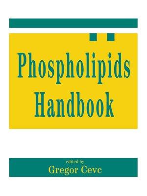 cover image of Phospholipids Handbook