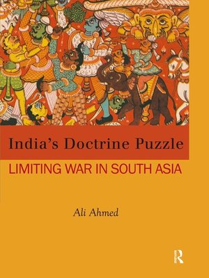 cover image of India's Doctrine Puzzle