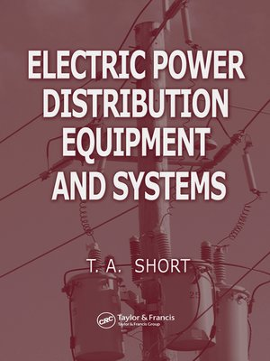 cover image of Electric Power Distribution Equipment and Systems
