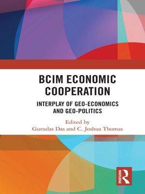 cover image of BCIM Economic Cooperation