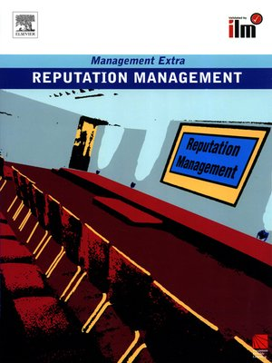 cover image of Reputation Management Revised Edition